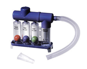 Breathing Exerciser Lung Function Improvement Deep Breath Trainer Respiratory UK