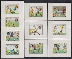 B839. Fujeira - MNH - Sports - Football - Deluxe