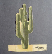 1940's Merita Bread Lone Ranger Standee Cactus