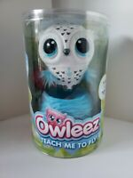 Owleez White Baby Owl Interactive Pet Love Me Feed Me Teach Me To Fly *NEW*