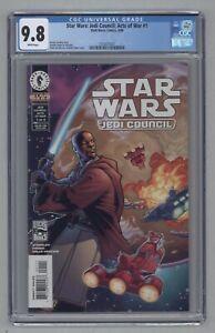 Star Wars Jedi Council Acts of War #1 1st Master K'Kruhk Micah Giiett CGC 9.8