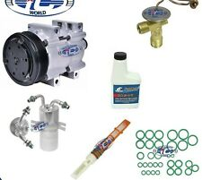 A/C Compressor Kit Fits Ford E150 E250 E350 1989 FS10 OEM 1 Year Warranty 57124