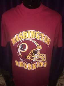 Old school,vintage t-shirts Redskins XL,L&Med available,$50 each