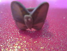 Plastic Butterfly Ring 2 Size 6 & Size 8  (Choose one size)