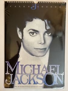 Michael Jackson Officially Licensed Calendar 2000 (New/Sealed)