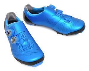 Shimano S-Phyre XC9 Mountain Bike Shoes EU 42 US Men 8.3 Blue 2 Bolt XC901 BOA