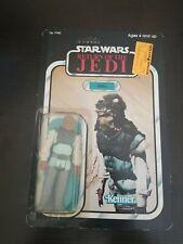 Vintage Kenner Star Wars ROTJ * Nikto * MOC UNPUNCHED - CLEAR BUBBLE 77 Back