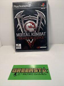 Mortal Kombat Deadly Alliance AUS PAL PS2 🇦🇺 Seller