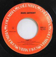 90'S 45 Marc Anthony - Tragedy / Trageda On Columbia