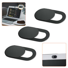 3Pack Webcam Cover 0.03in Ultra-Thin Web Camera Cover for Laptop PC Phone Black
