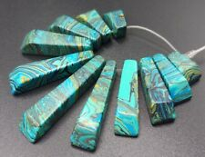 11pcs Blue Multicolor Turquoise Stone Pendant Bead Jewellery Set