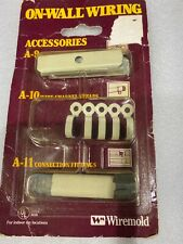 Wiremold On-Wall Wiring Accessories A-9/10/11 NEW