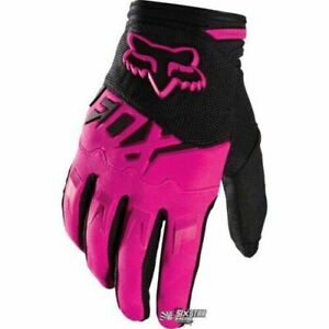2020 PINK Fox Racing Dirtpaw Race Motocross Dirtbike MTX Riding Gloves