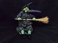 "Halloween Witch Plush Stuffed Gift Weighted Bottom 10""  Decoration Sandbag"