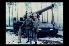 Nuclear Atomic Artillery PHOTO Atomic Projectile Cannon Army Soldiers Howitzer