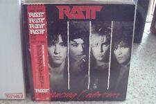 "RATT ""DANCING UNDERCOVER"" 1986 JAPANESE VINYL W/OBI / NEAR MINT"