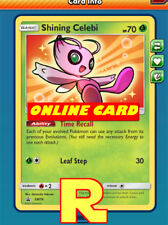 Shining Celebi - for Pokemon TCG Online ( DIGITAL ptcgo in Game Card)