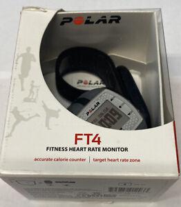 New Polar FT4 Heart Rate Monitor Fitness Watch & HR  Sensor New Battery
