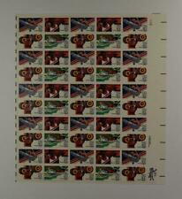 US SCOTT C105 - C108 PANE OF 50 OLYMPIC 84 AIR MAIL STAMPS 40 CENT FACE MNH