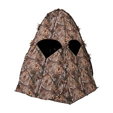 Ameristep 1RX1S008 Camouflage Tall Hunting Outhouse Spring Steel Ground Blind