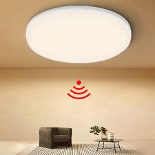 LED-Deckenlampe Camille Lindby Rund Chrom Kunststoff Sensor Bewegungsmelder 25cm