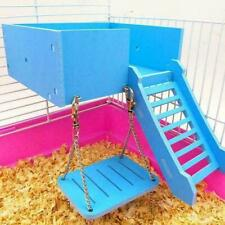 Pet Small Animal Hamster Swing Toy Cage Accessories Supplies Hanging