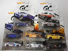 HOT WHEELS SERIES GT GRAN TURISMO BMW,RENAULT, NISSAN, MCLAREN....1:64