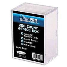 ULTRA PRO 250 CARD 2 PIECE HEAVY DUTY STORAGE BOX