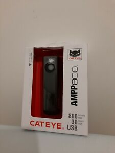 CatEye AMPP 800 Rechargeable Bicycle Light - Black