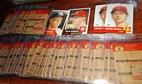 TOPPS BASEBALL LIVING SET PICK YOUR CARD 1-100 SP (1953) - U-PICK FREE SHIPPING!