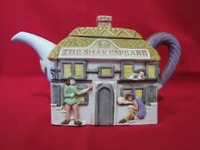 "Pub Teapot by Christopher Wren ""The Shakespeare"" -  Staffordshire Tableware"