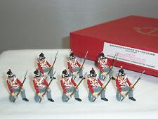 TRADITION 710 BRITISH LINE INFANTRY KNEELING METAL TOY SOLDIER FIGURE SET
