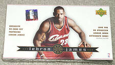 FACTORY SEALED BOX LEBRON JAMES ROOKIE CARD SET 2003-2004 UPPER DECK
