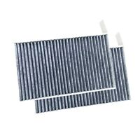 1X(Cabin Air Filter 2 Pack With Double Effect Activated for Tesla Model 3 C9R6)