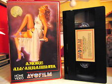 AMORE ALL'ARRABBIATA ( CARLO VEO - NINETTO DAVOLI )# RARA VHS - AVOFILM #