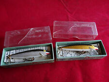 A PAIR OF EARLY BOXED REPALA LURES, POSSIBLY UNUSED