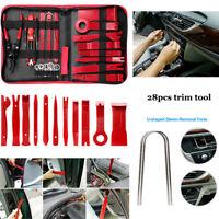 28pcs Car Door Molding Dash Panel Audio Seal Interior Trim Removal Pry Tool Kits