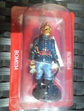 Figurine pompier tenue de feu et casque respiratoire FRANCE1893 Bom034 Del prado