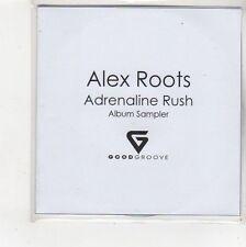 (FS125) Alex Roots, Adrenaline Rush sampler - DJ CD