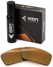Polarized IKON Iridium Replacement Lenses For Oakley Gascan S SMALL  24K Gold