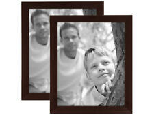 MCS 8x10 Economy Flat-Top Picture Frame -2 Pk - Espresso (Same Shipping Any Qty)