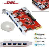5 Port 1 intern PCI Express Erweiterungskarte Controll Hub PCIe Karte USB 3.0