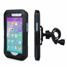 Waterproof Motorcycle Bicycle Handlebar Mount Holder Case iPhone S7
