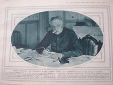 Photo General Sarrail allied commander Salonica 1916