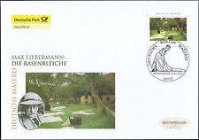 BRD 2013: Max-Liebermann-Gemälde!  Post-FDC der Nr 2974 mit Berliner Stempel! 1A