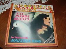 "JONATHAN KING "" UNA PALOMA BLANCA "" ITALY'75"