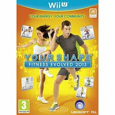 YOUR SHAPE FITNESS EVOLVED 2013 Wii U *NEW & SEALED*