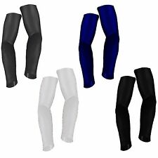 ARM SLEEVE Compression Elbow Support Black White Navy Basketball Golf Size S-2XL