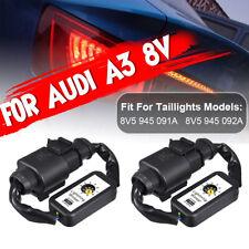 For Audi A3 8V 2017-2018 2Pcs Semi Dynamic Turn Indicator LED Taillight  @! ,*