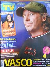 TV Sorrisi e Canzoni n°26 2005 copertina speciale VASCO ROSSI  [D48]